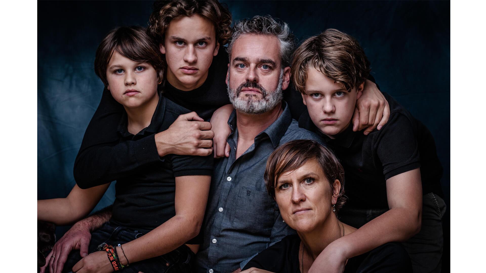 Familie van der Berg